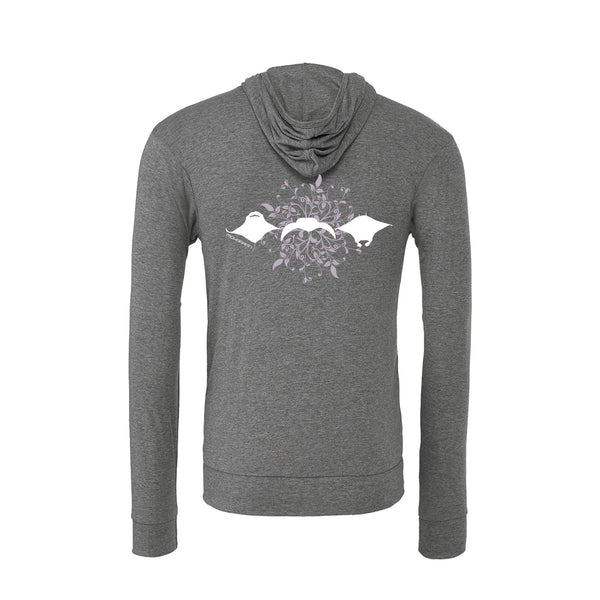 scuba diving hoodies for women with manta ray