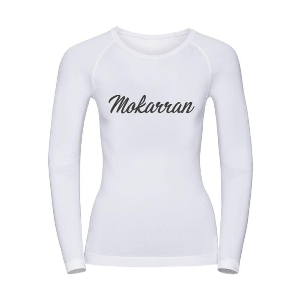 Scuba rash guard for women with shark