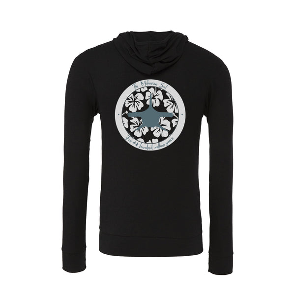 Black Mokarran soul sponge fleece Pullover scuba Hoodies for women