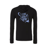 Black Ocean Sweet Home sponge fleece Pullover scuba Hoodies for women
