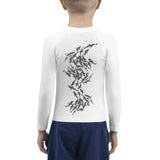 Scuba rash guard for little boy with shark