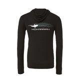 Shark Lightweight Hoodies. Color Asphalt