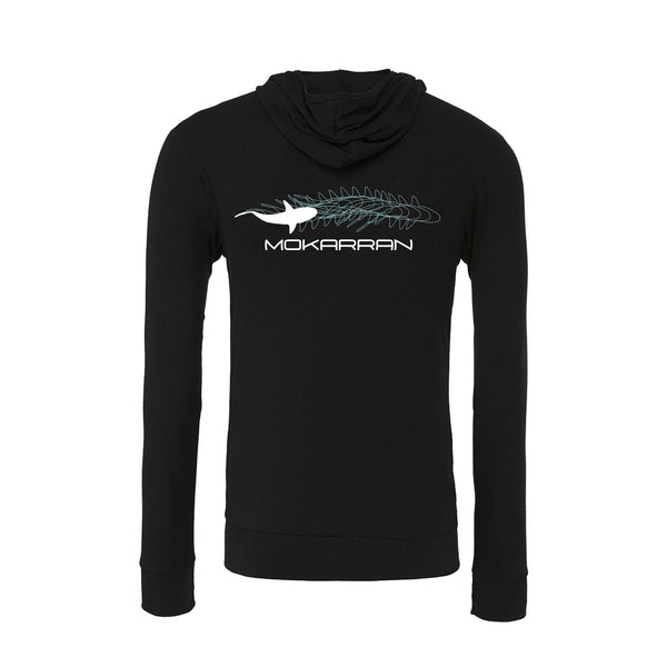 Shark Lightweight Hoodies. Color Black
