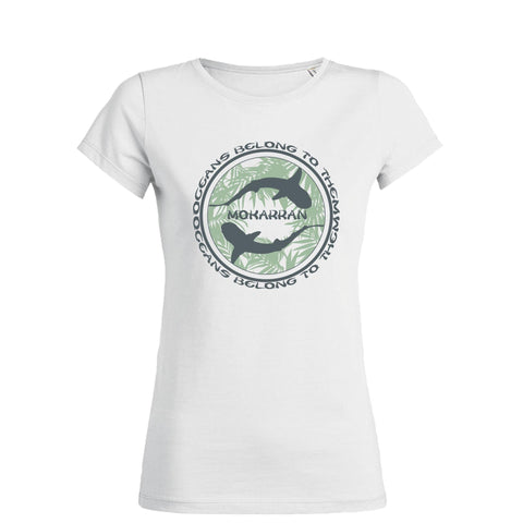 White Sharks Crew Neck Scuba Tee