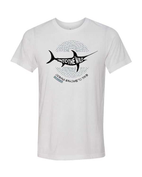 ocean lifestyle brand sailfish t-shirt white