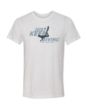 Scuba diving t-shirt for men with freediver