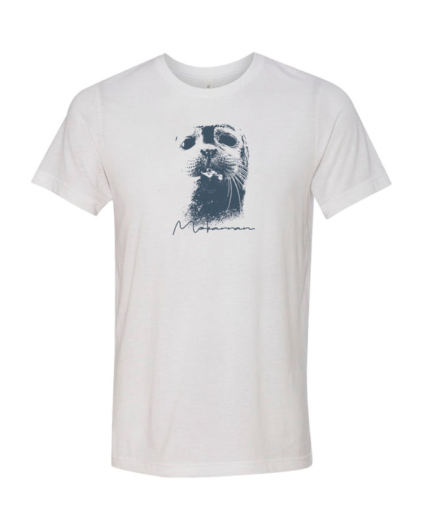 Seal white scuba tee shirt for men
