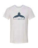 Scuba diving t-shirt for men with humpback whale