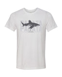 Scuba t-shirt Oceanic whitetip white