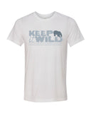 Scuba diving t-shirt for men with Polar Bear
