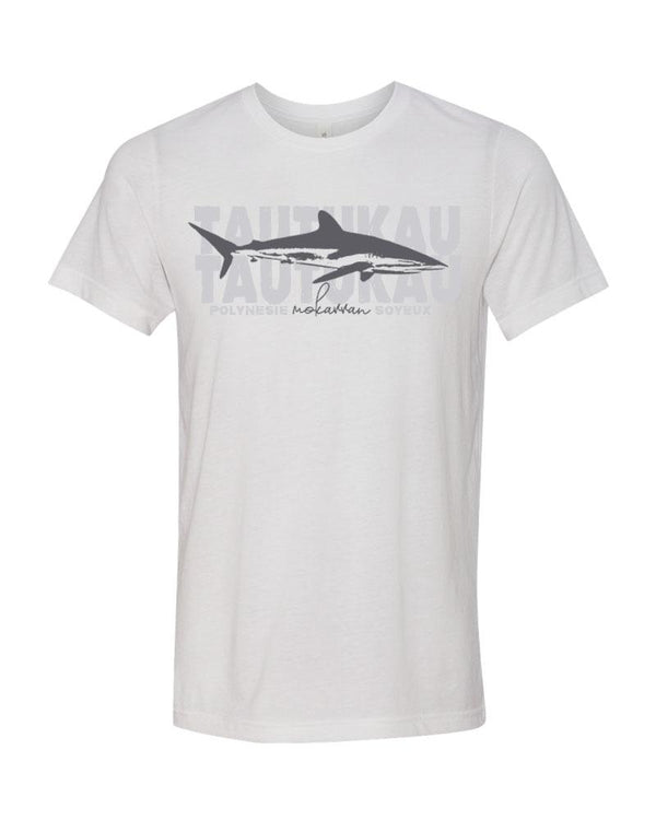 Scuba t-shirt Silky shark white