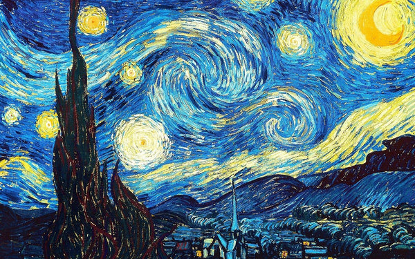 Starry, Starry Night: By Vincent Van Gogh | BestPaintByNumbers