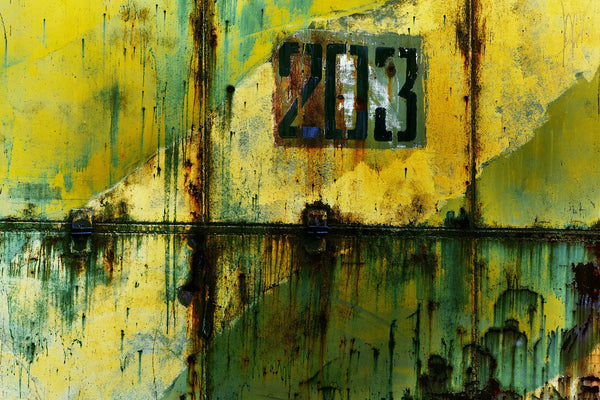 A painting of number 203