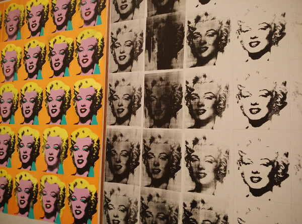 A painting of marilyn monroe by andy warhol