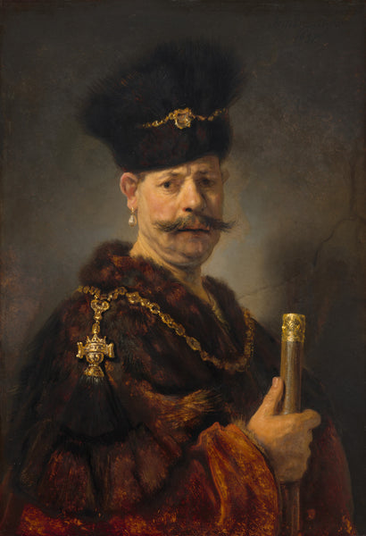 A painting of a polish nobleman 1937