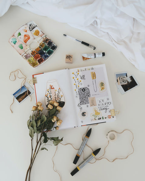 A photo of stuffs on white surface