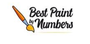 A logo of best paint by numbers