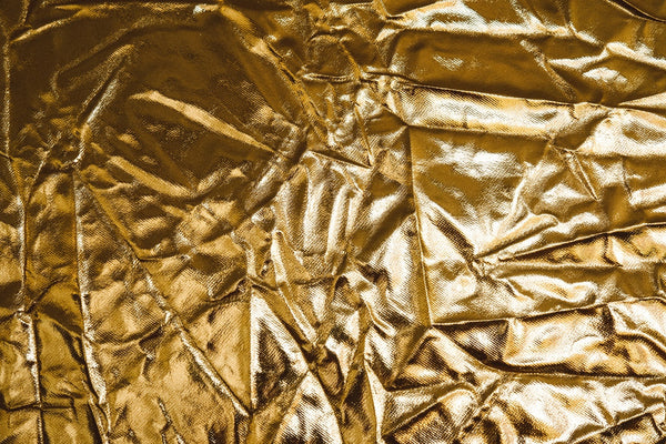 Gold leaf used for painting