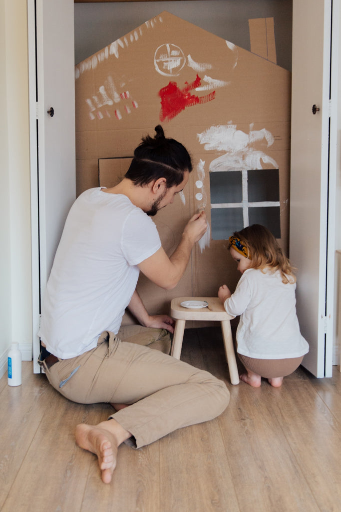 Indoor Camping - Things to do with your children