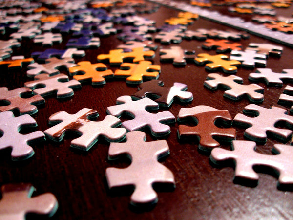A jigsaw puzzle for less busy days