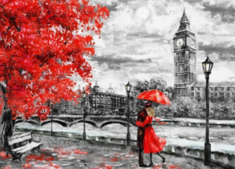 Love in London Best Paint by Numbers
