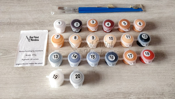 Best Paint by Numbers paint set