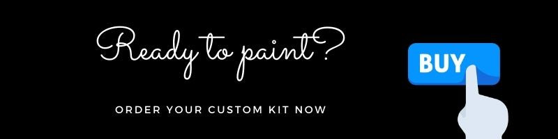 Paint your own photo with a paint by numbers custom kit