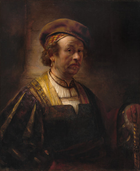 Portrait of Rembrandt in 1942