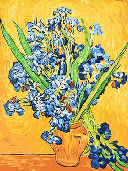 Les Iris - Van Gogh - BestPaintByNumbers - Paint by Numbers Custom Kit