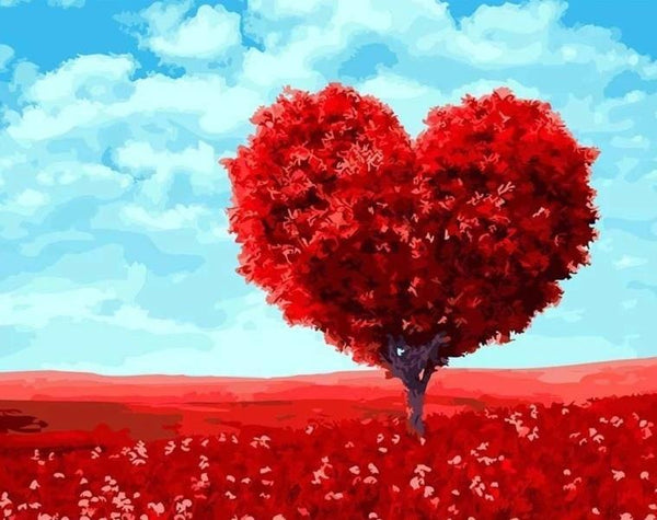21201 Tree of Love - BestPaintByNumbers