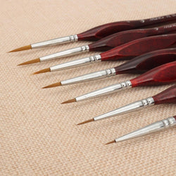 7x Premium Quality Paint Brushes - BestPaintByNumbers