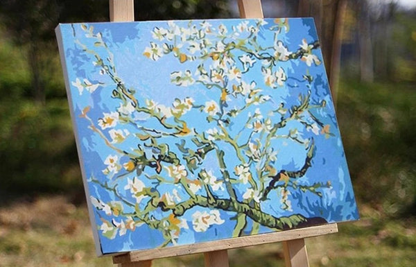 Almond Blossoms - Van Gogh - BestPaintByNumbers
