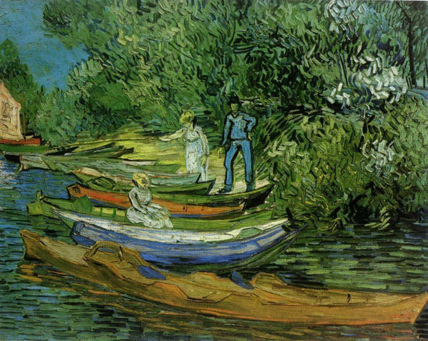 Bank of the Oise at Auvers - Van Gogh - 1890 - BestPaintByNumbers - Paint by Numbers Custom Kit