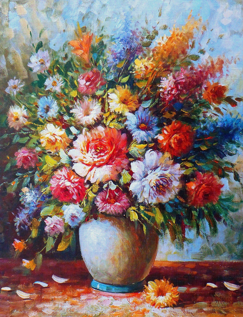 Beautiful Bouquet of Flowers - BestPaintByNumbers - Paint by Numbers Custom Kit