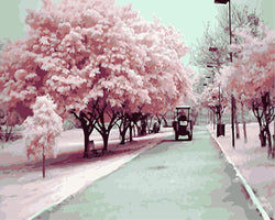 Cherry Blossom Season - BestPaintByNumbers