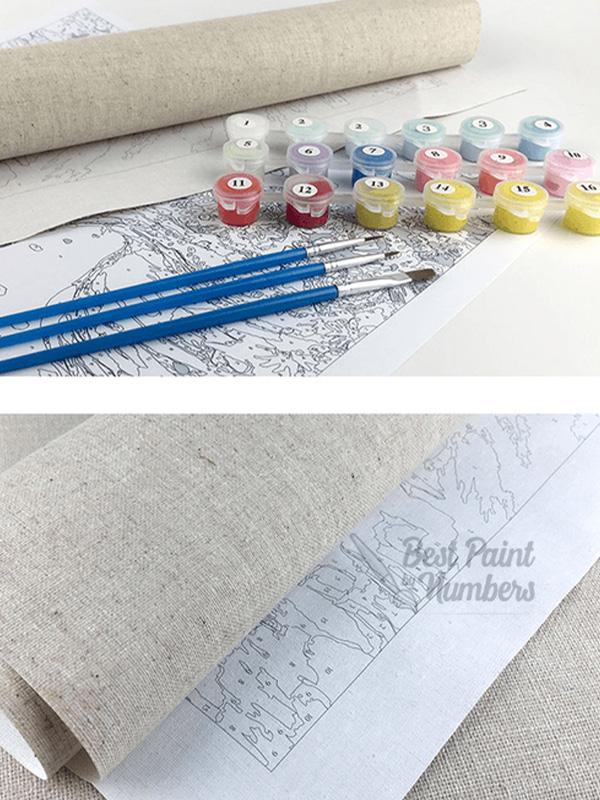 Sketchy Art Paint by Numbers - BestPaintByNumbers - Paint by Numbers Custom Kit