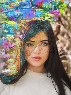 YOUR OWN PHOTO AS IMPRESSIONISM ART - mipicassa