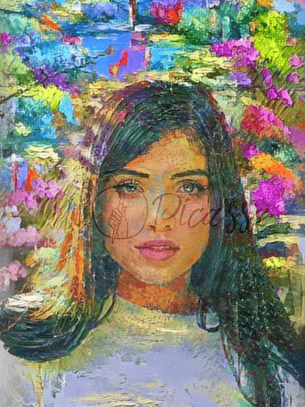 YOUR OWN PHOTO AS IMPRESSIONISM ART - BestPaintByNumbers - Paint by Numbers Custom Kit