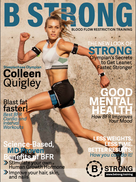 Olympic athlete, Colleen Quigley, shares why training with Blood Flow Restriction (BFR) is giving her an advantage