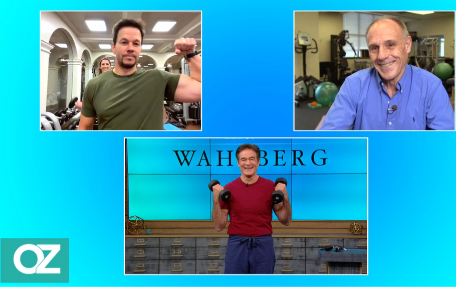 BFR Expert, Dr. Jim Stray-Gundersen talks to Dr. Oz and Mark Wahlberg about the benefits of B Strong Blood Flow Restriction Training