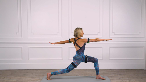 Crescent with Rotation: Using B Strong BFR Bands with Yoga