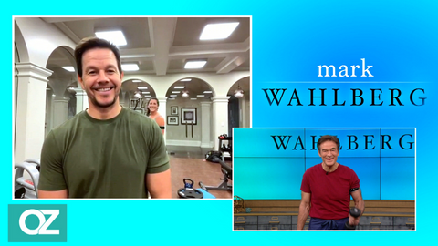 Mark Wahlberg and Dr Oz discuss B Strong and blood flow restriction