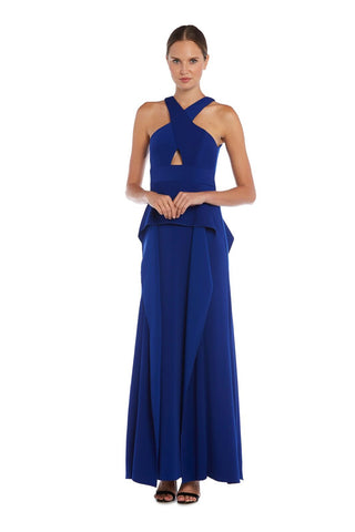 Cutout Overlay Gown