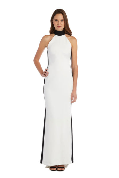 Mock Neck Gown