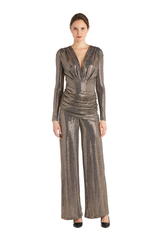Deep V Jumpsuit