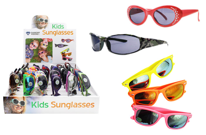 Kids Assorted Sunglasses Case Pack 48