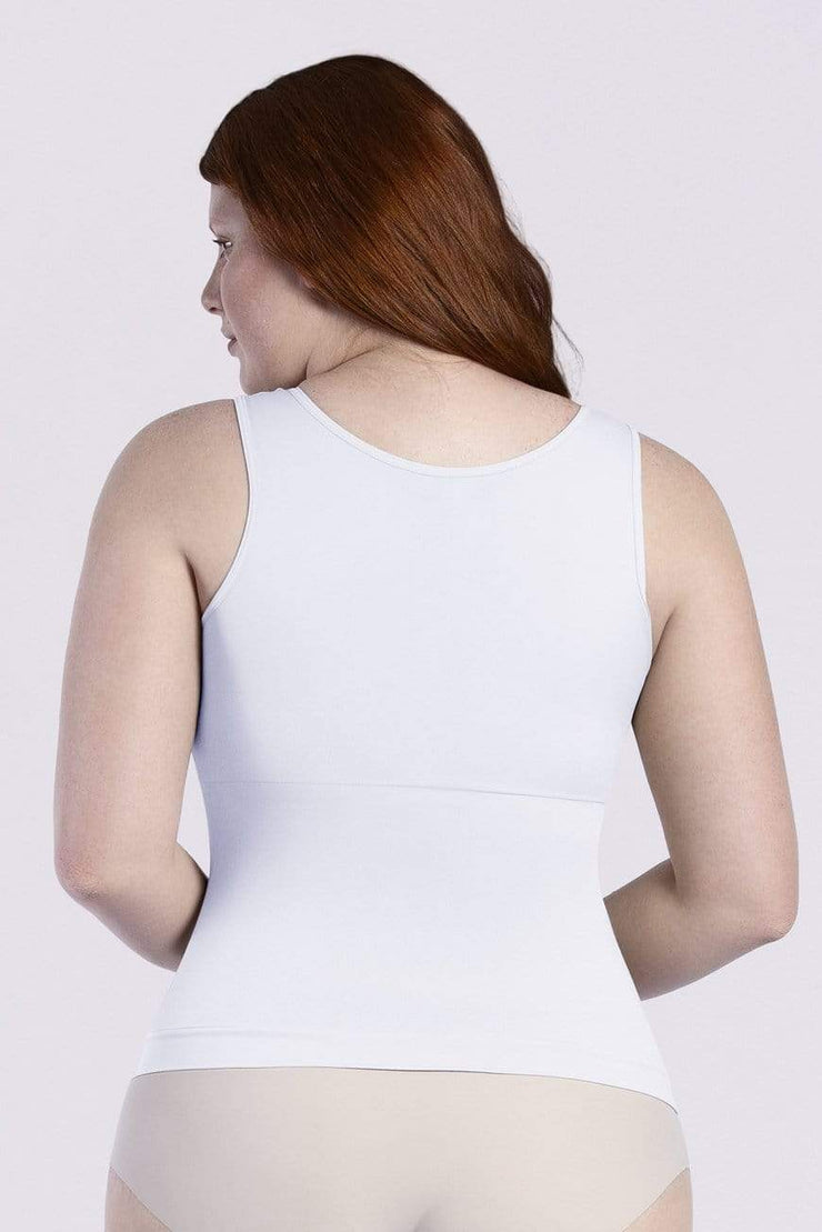 NCDI FASHION SHAPE ESSENTIAL SHAPING SQUARE NECK CONTROL TANK LUNAVUE Shapewear