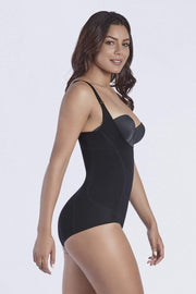 NCDI LIGHT BLACK / S ULTRA SHAPING HIP-HUGGER BODYSUIT LUNAVUE Shapewear