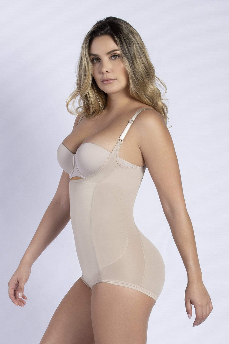 NCDI LIGHT NUDE / S ULTRA SHAPING HIP-HUGGER BODYSUIT LUNAVUE Shapewear