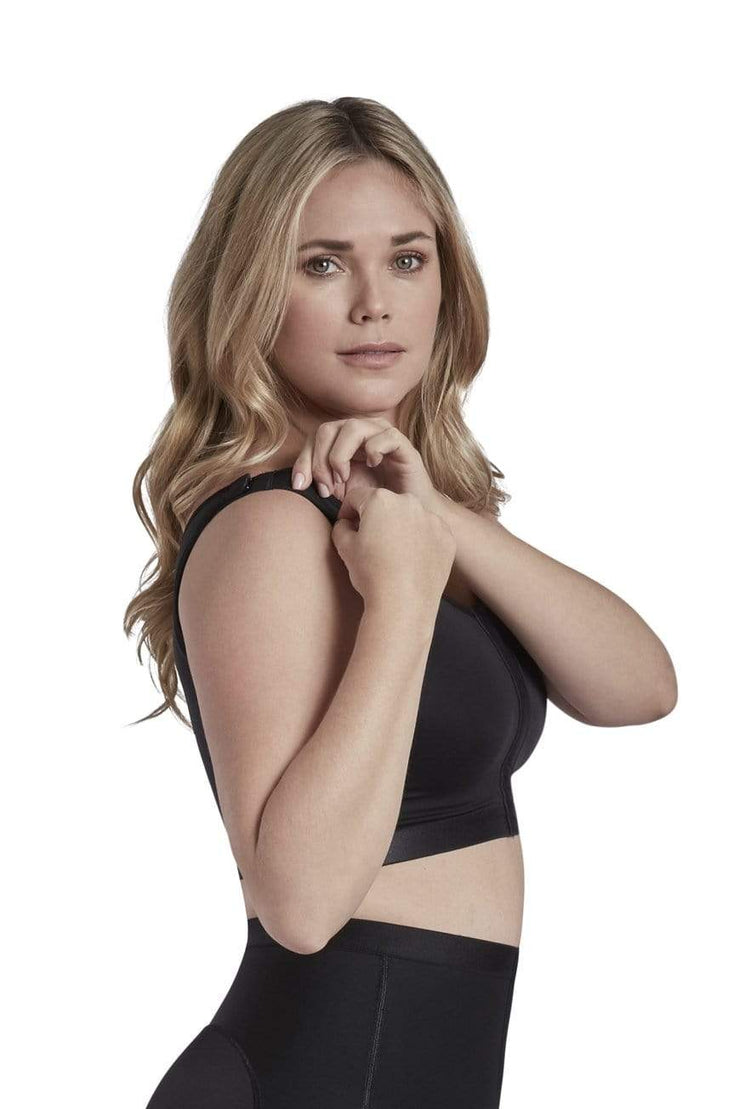 NCDI Post-Surgical Shapewear BLACK / S POST-SURGICAL COMFORT SUPPORT BRA LUNAVUE Shapewear